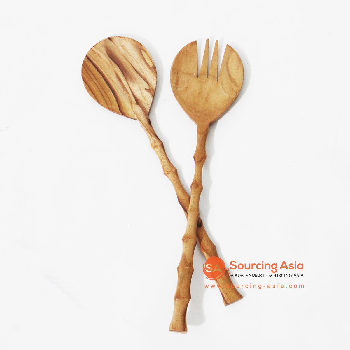 MSB008 TEAK WOOD SALAD SET