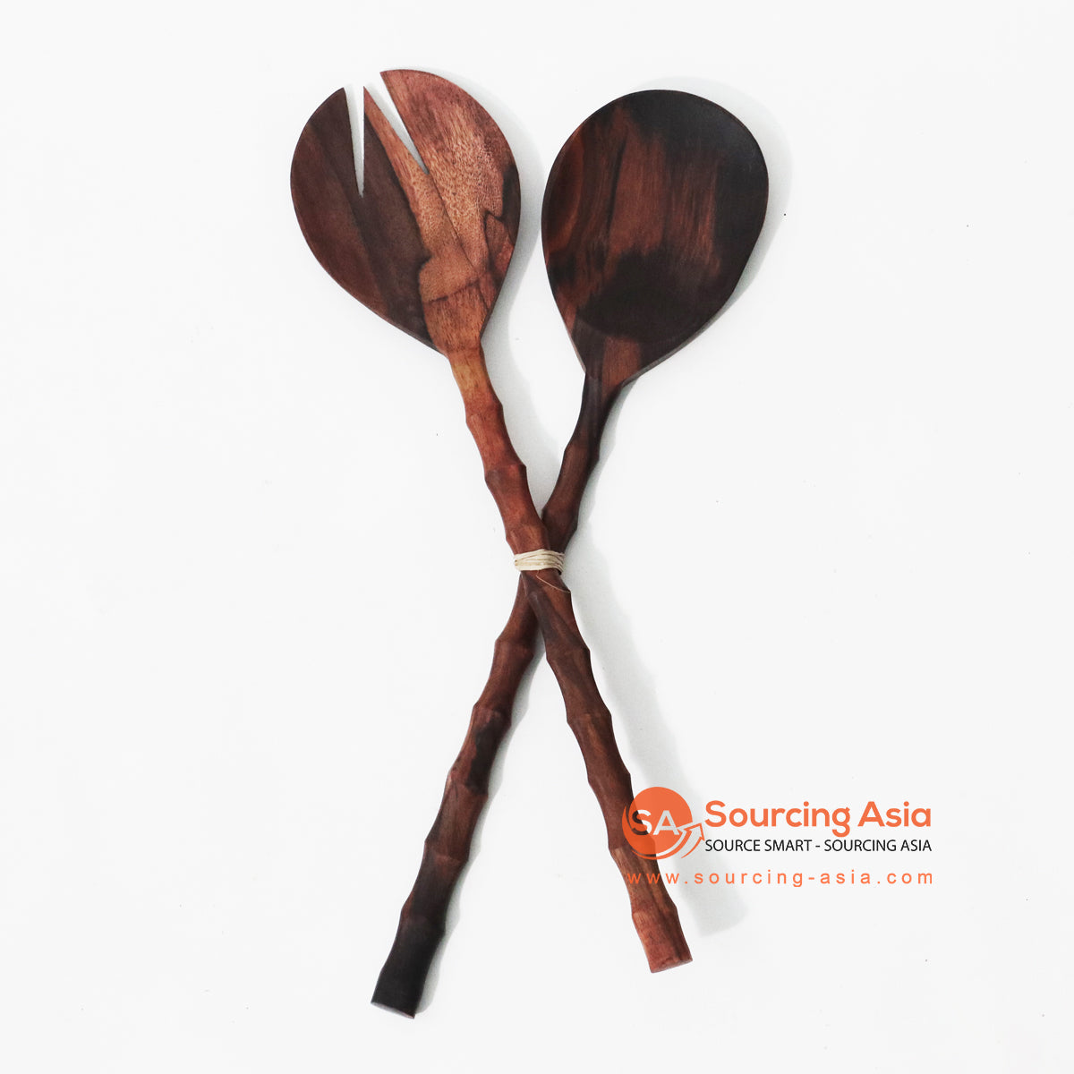 MSB009 TEAK WOOD SALAD SERVER SET