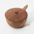 MSB012 WOODEN SUGAR BOWL AND SPOON