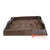 MTI112 RATTAN TRAY WITH LEATHER HANDLE