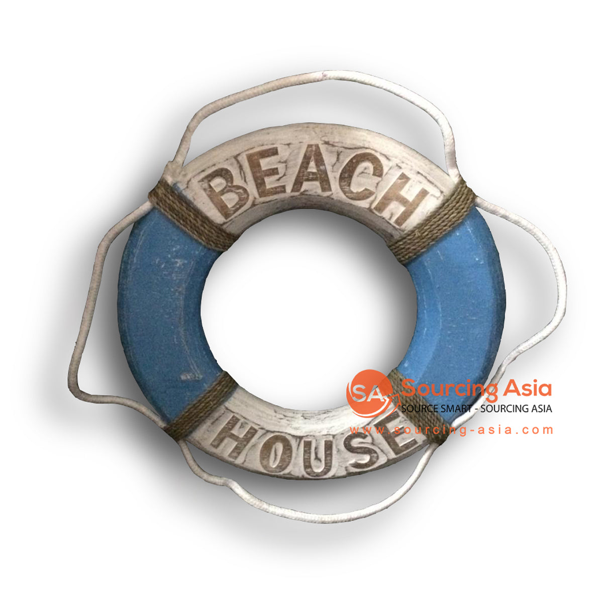 MTIB001-2 LIFE BUOY RING BEACH HOUSE  BLUE
