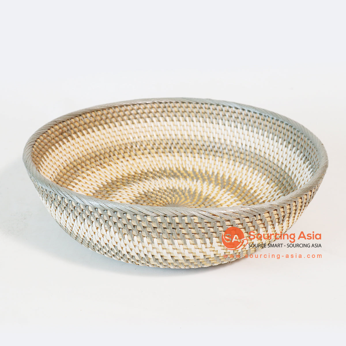 MTIC010 RATTAN AND PLASTIC TRAY