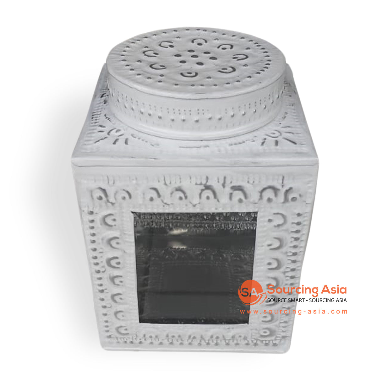 MTRA004-1 METAL BOX COLOR WHITE