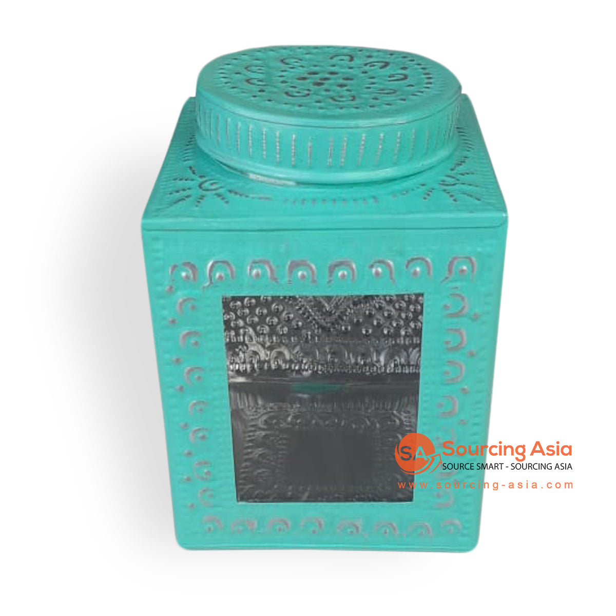 MTRA004-2 METAL BOX COLOR TURQUOISE