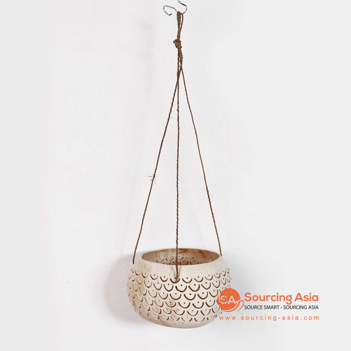 MULA001 COCONUT BOWL WITH HANGING