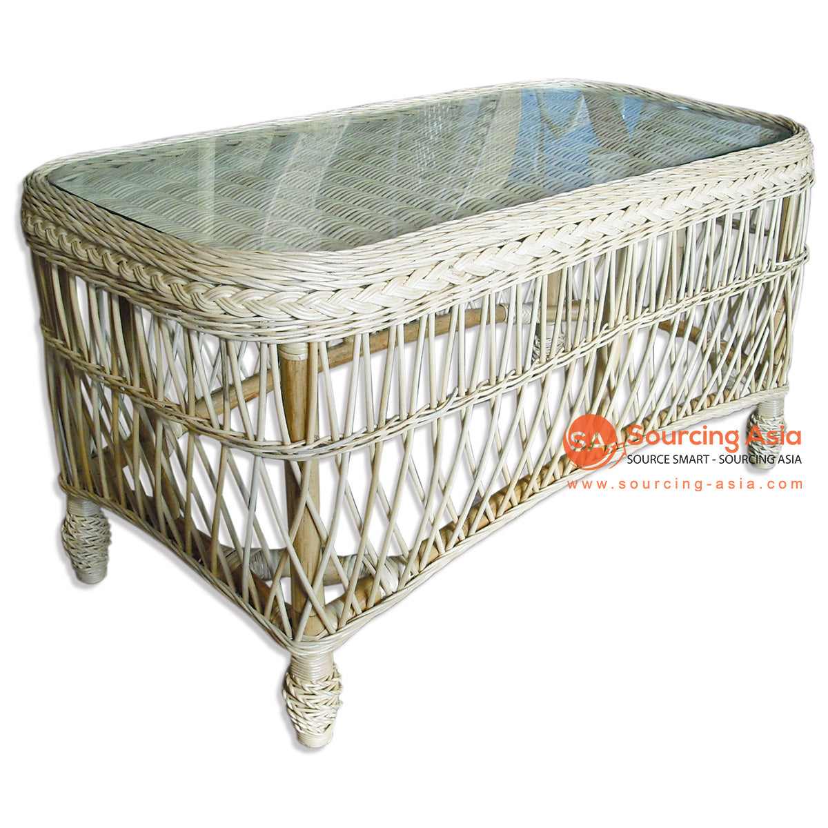 MUR003-CT RATTAN COFFEE TABLE