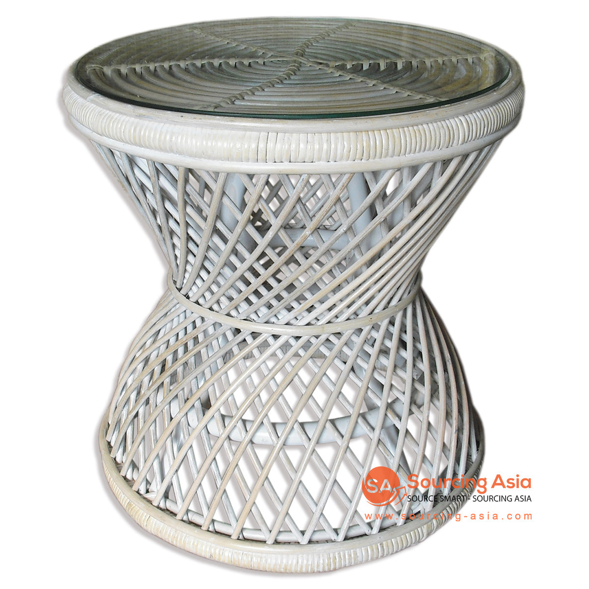 MUR005-CT RATTAN SIDE TABLE