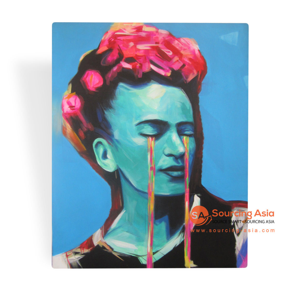 MYS061-1 CRYING FRIDA PAINTING