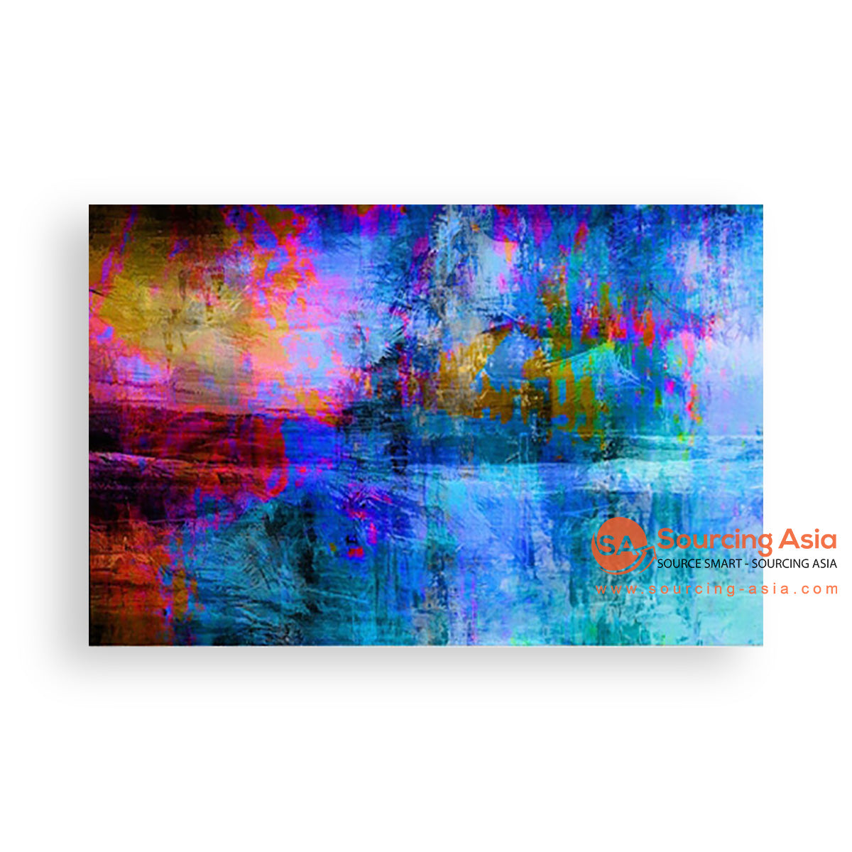 MYS130 ABSTRACT CONTEMPORARY PAINTING