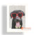 MYS171 TRENDY DOG PAINTING