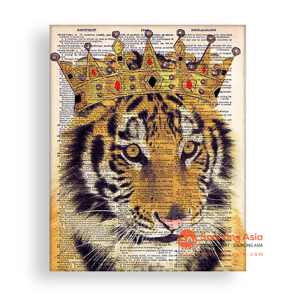MYS174 TIGER KING PAINTING