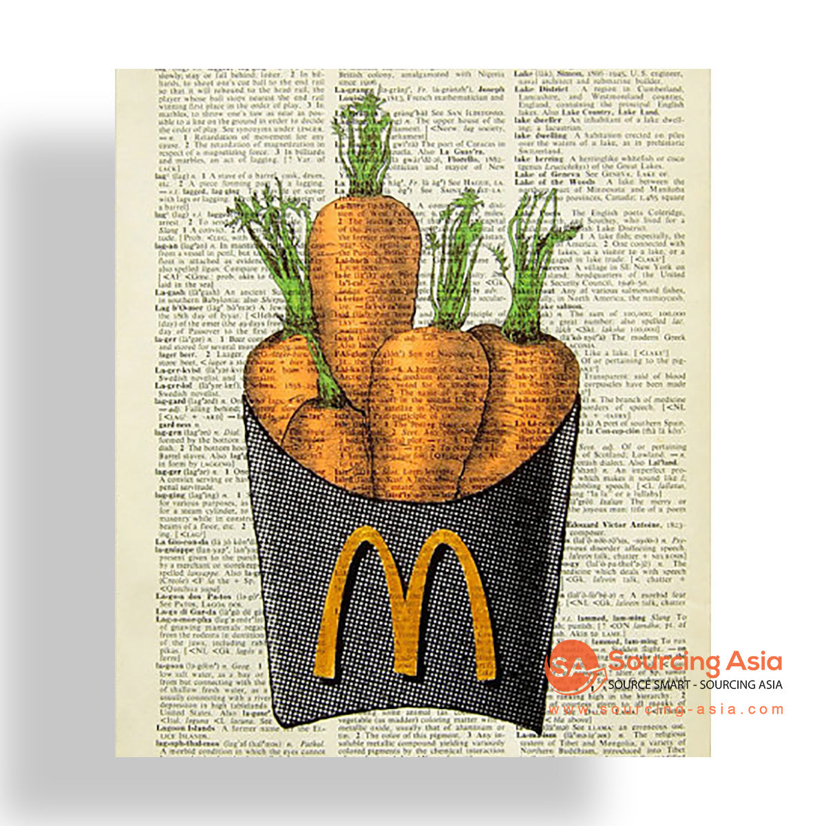 MYS178 CARROTS PAINTING