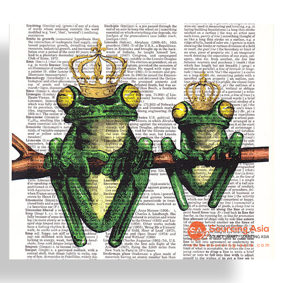 MYS182 FROG PRINCES PAINTING