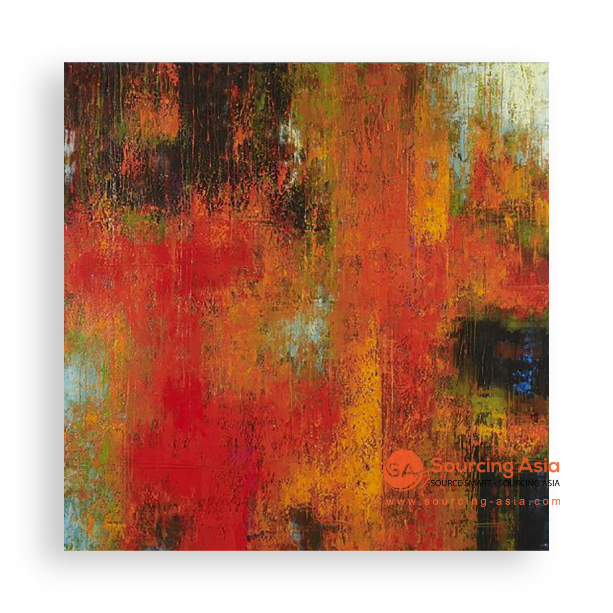 MYS224 AUTUMN ABSTRACT PAINTING