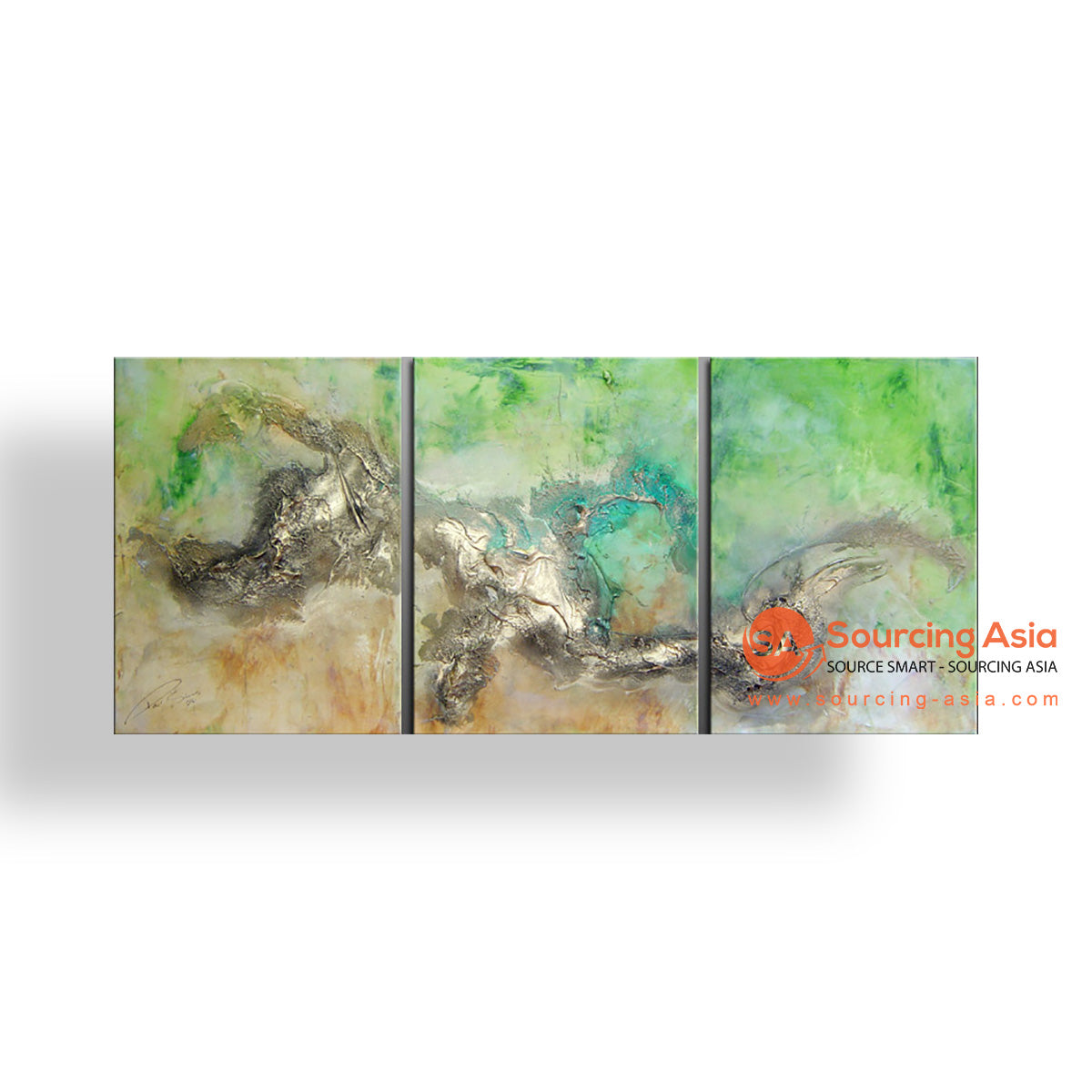 MYS227 ABSTRACT LANDSCAPE PAINTING