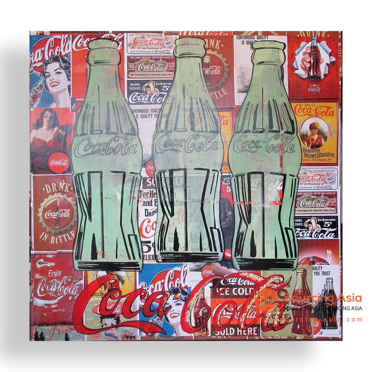 MYS336 THE COCA COLAS PAINTING