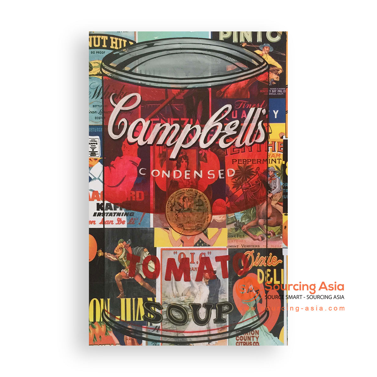MYS339 RED CAMPBELL TOMATO SOUP