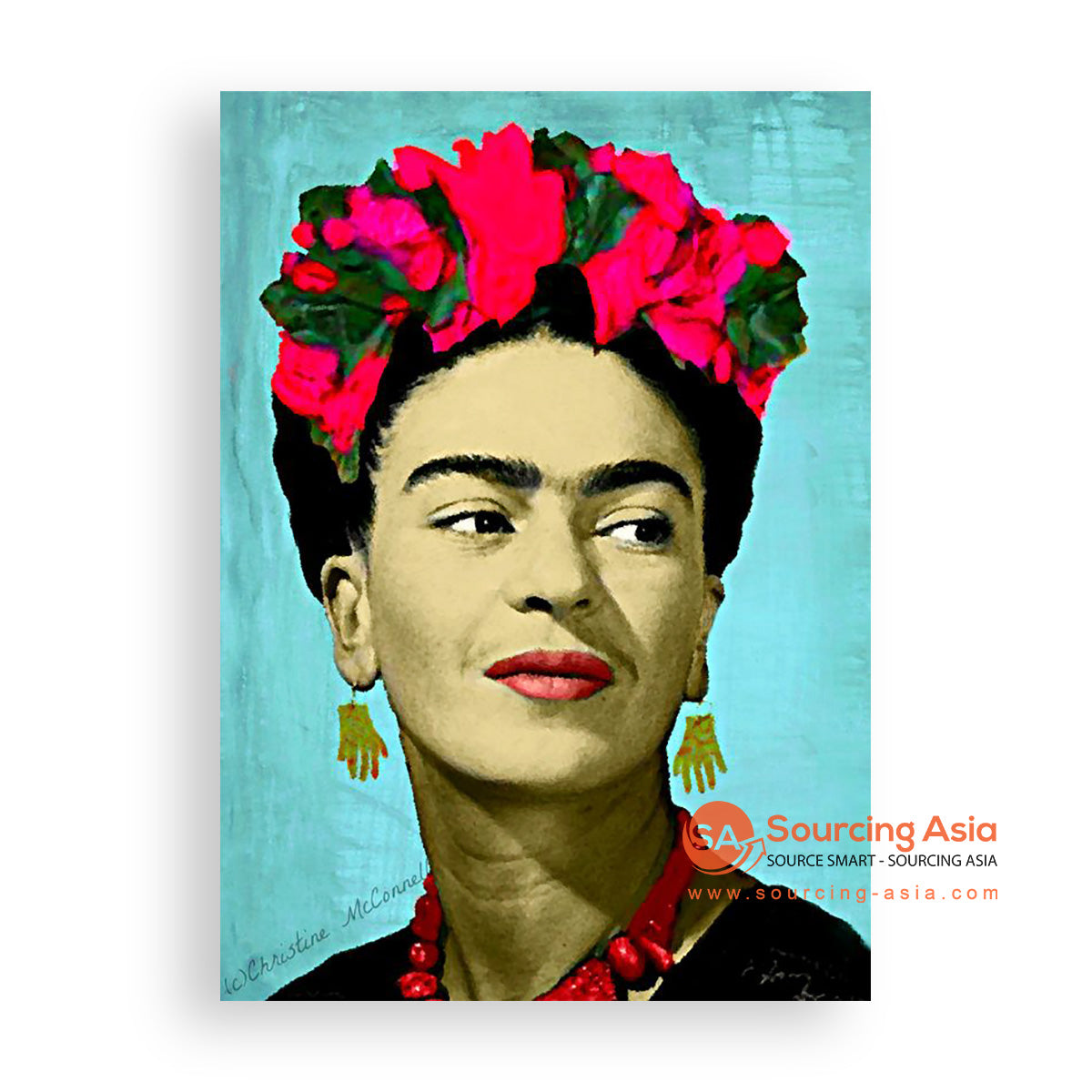 MYS363 THE FRIDA PAINTING