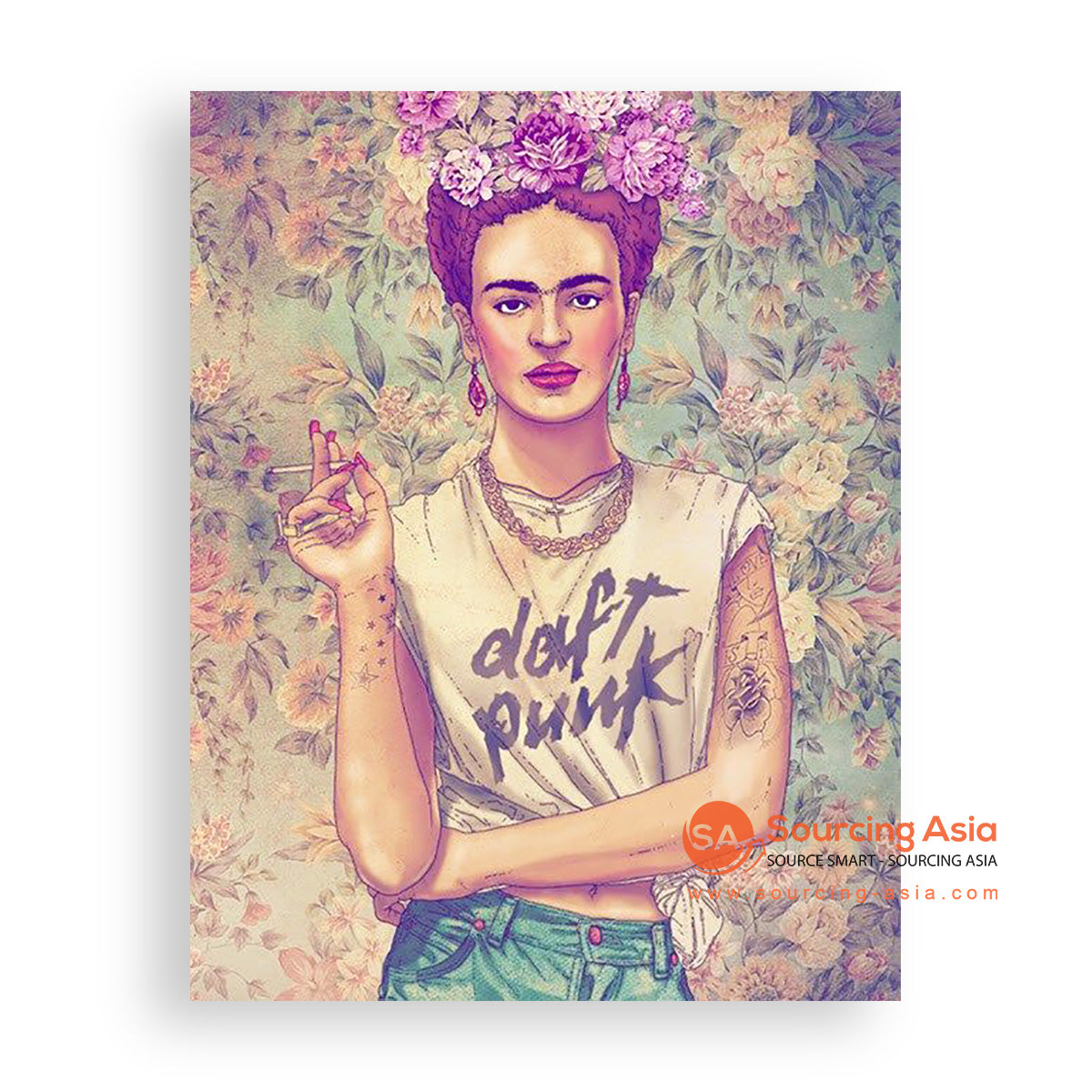 MYS364 REBELLIOUS FRIDA PAINTING