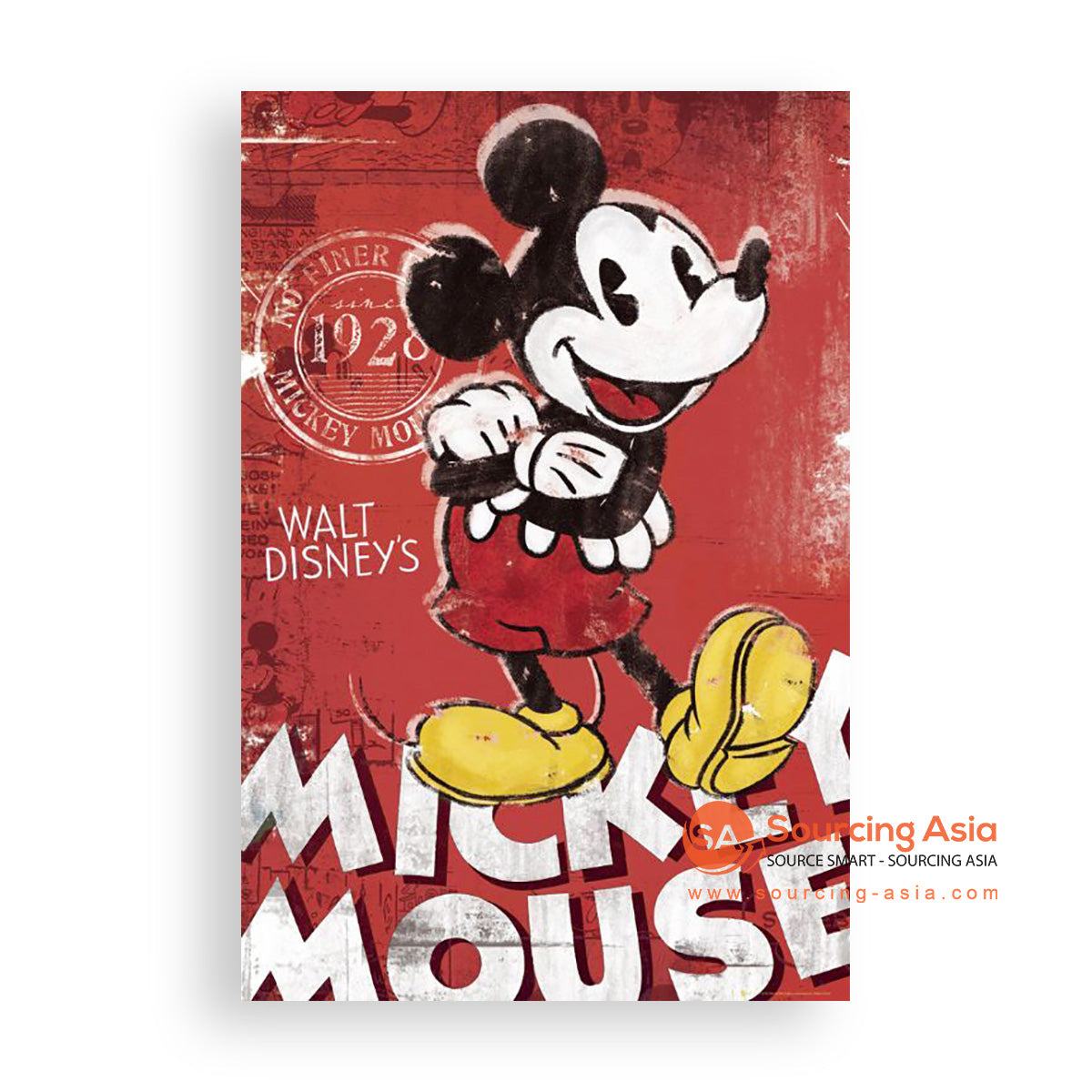 MYS388 MICKEY MOUSE PAINTING
