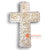 NST005 SHELL CROSS WALL HANGING