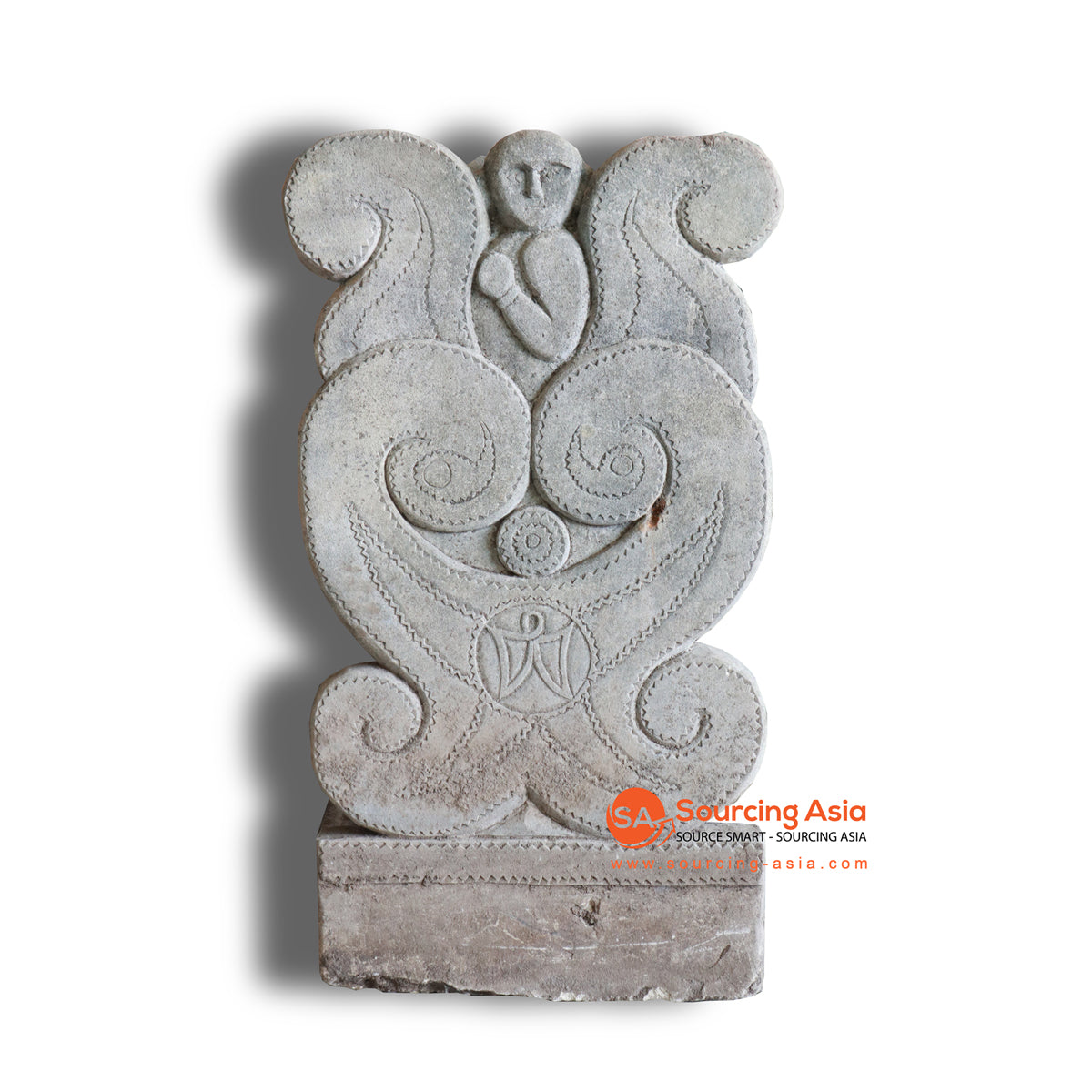 NUG003 ETHNIC CARVED STATUE DECORATION