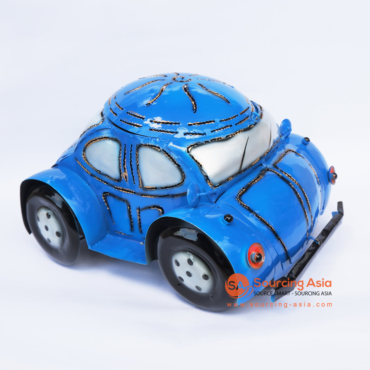 PEBC169 AIRBRUSHED PAINTED MINIATURE VW CAR DECORATION