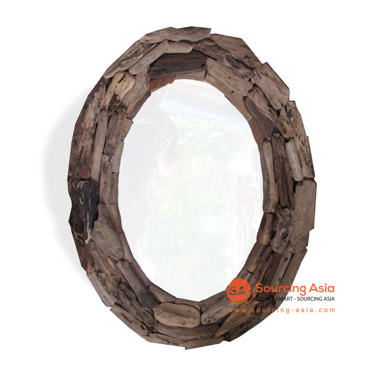 PJY022 DRIFTWOOD MIRROR DECORATION