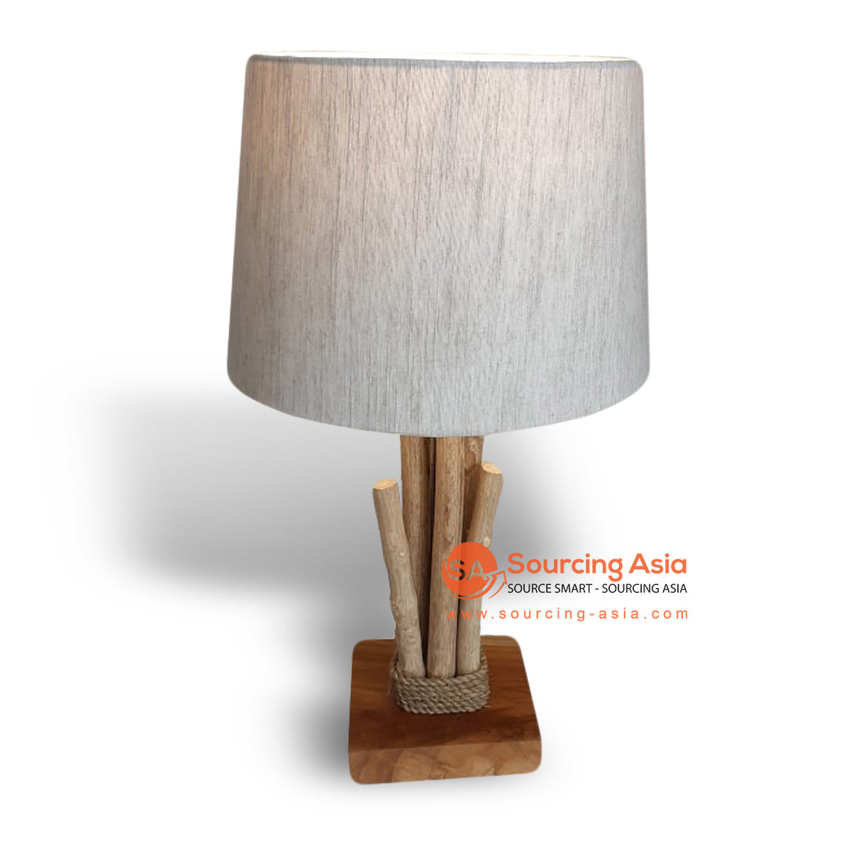 PLB006 COFFEE WOOD LAMP