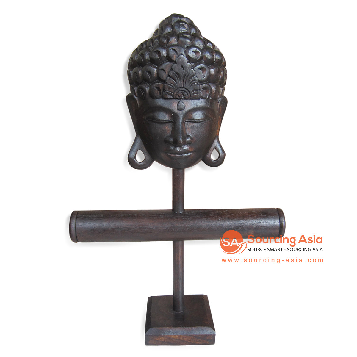 PUR001 BUDAH HEAD JEWELERY STAND