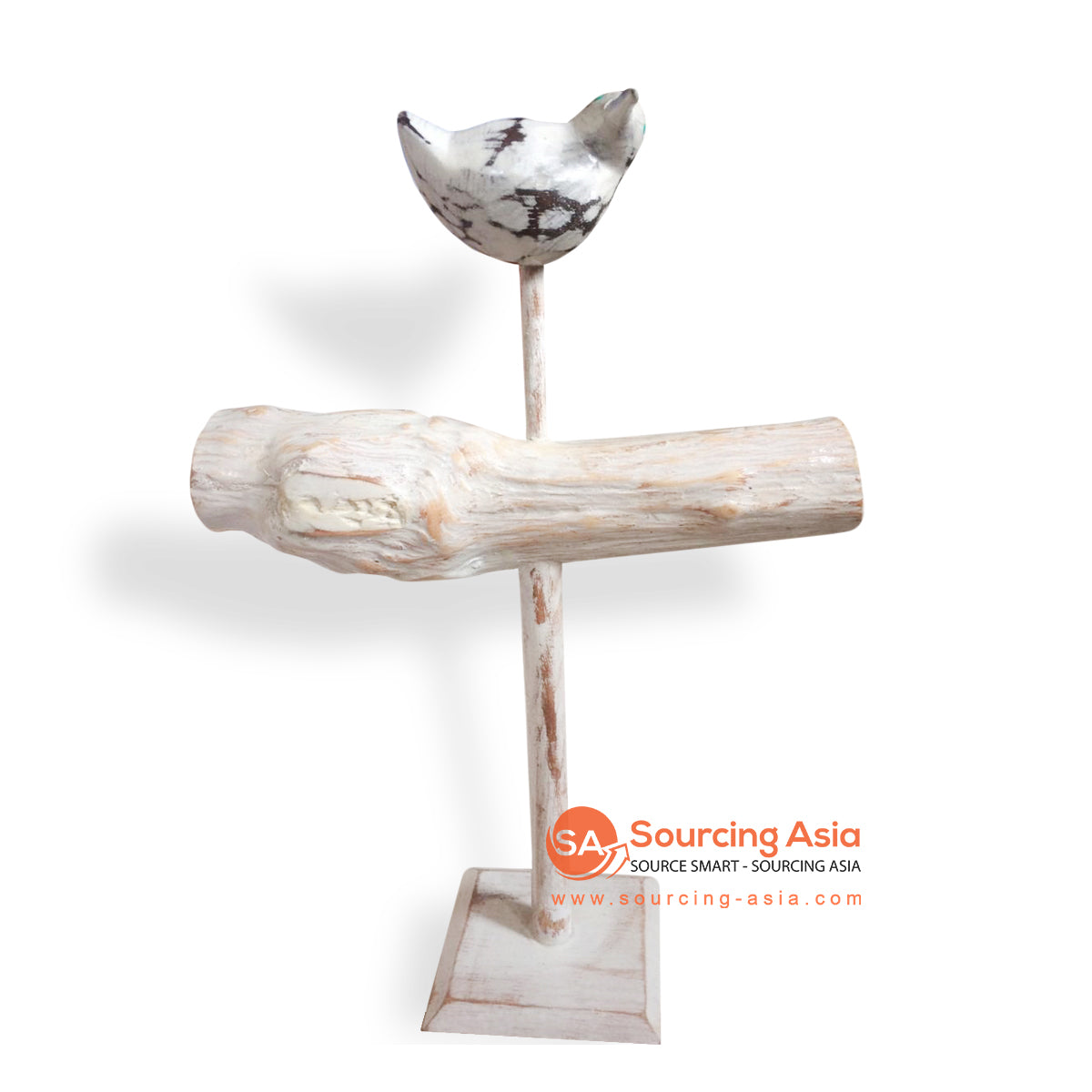 PUR003 WOODEN JEWELRY STAND