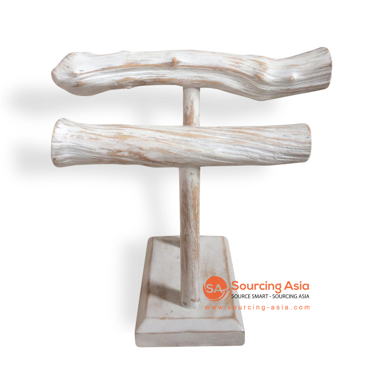 PUR004 WOODEN JEWELRY STAND