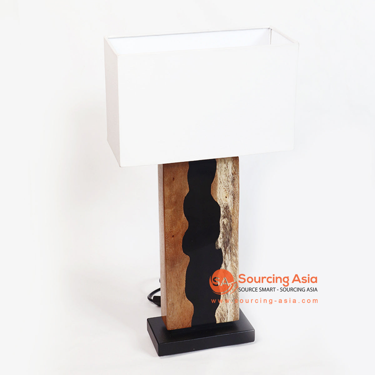 RCD002 WOODEN TABLE LAMP