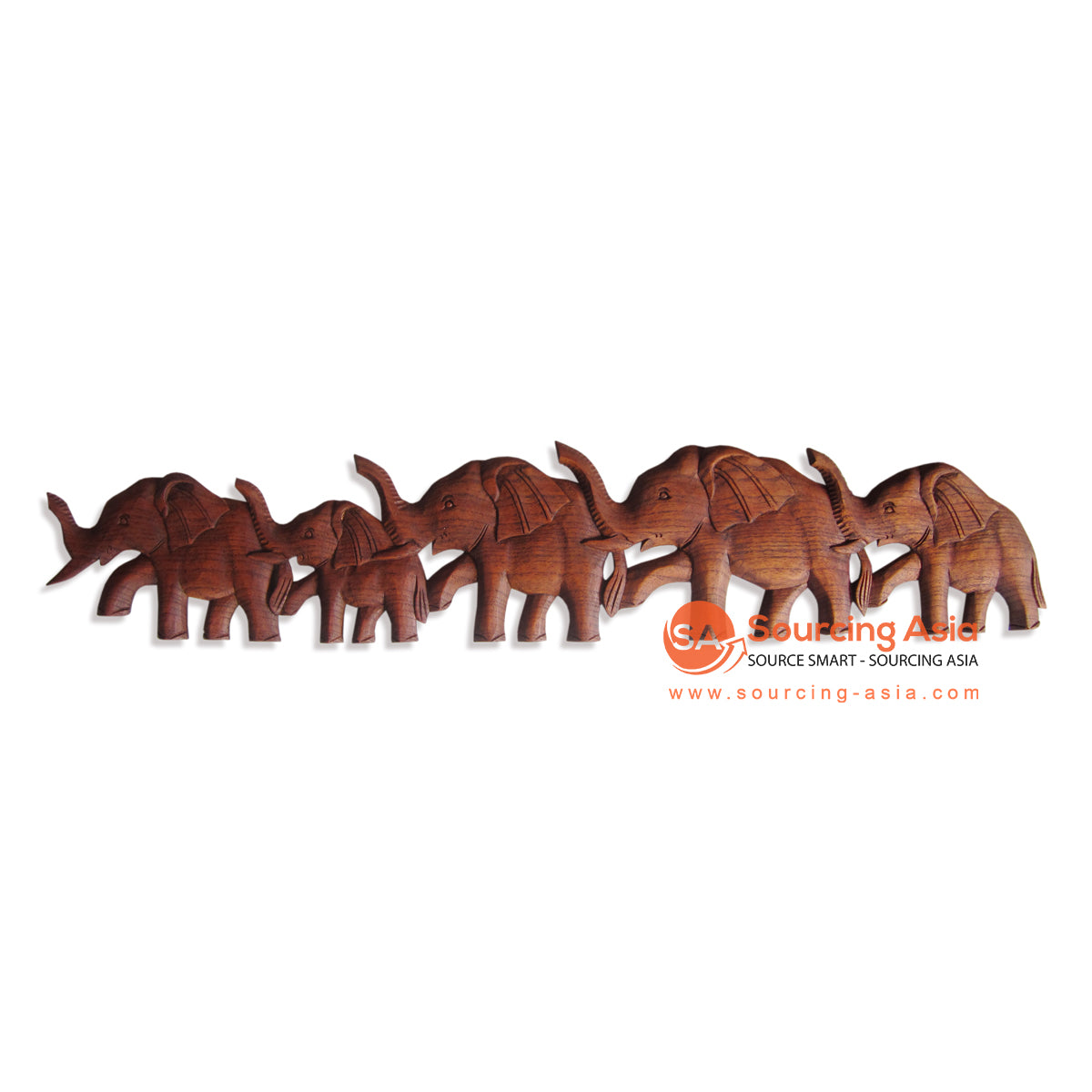 RGL002-100 WOODEN ELEPHANT DECORATION