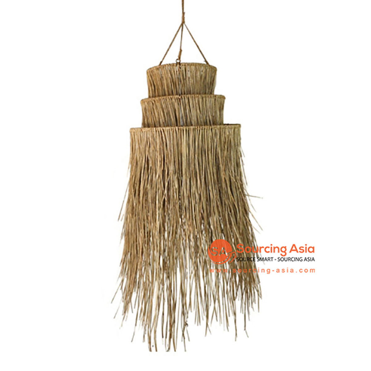 SHL063-2 NATURAL SEA GRASS PENDANT LAMP