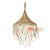 SHL064-12 NATURAL RATTAN PENDANT LAMP