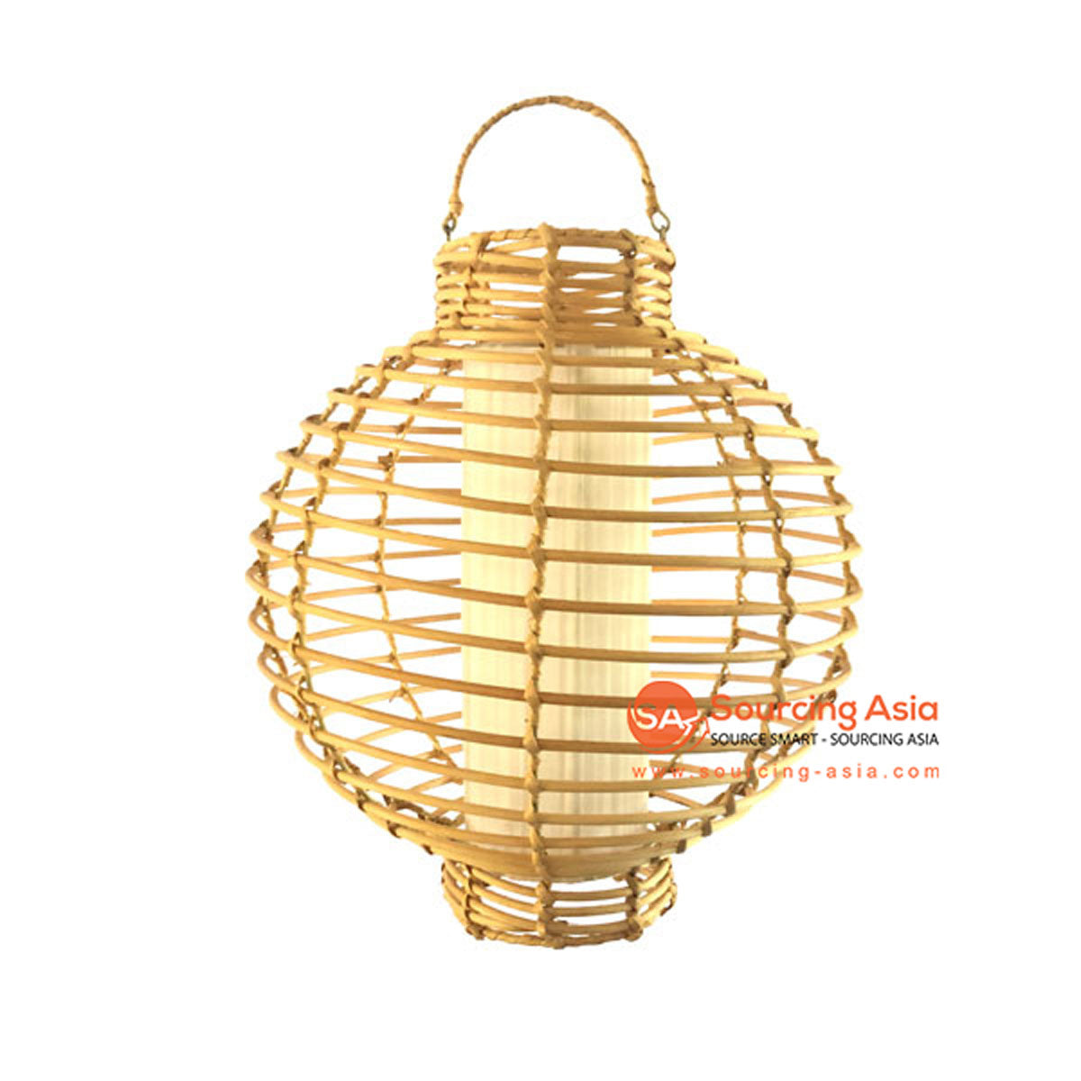SHL064-14 NATURAL RATTAN PENDANT LAMP