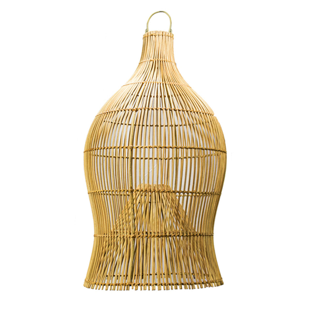 SHL064-19 NATURAL RATTAN PENDANT LAMP