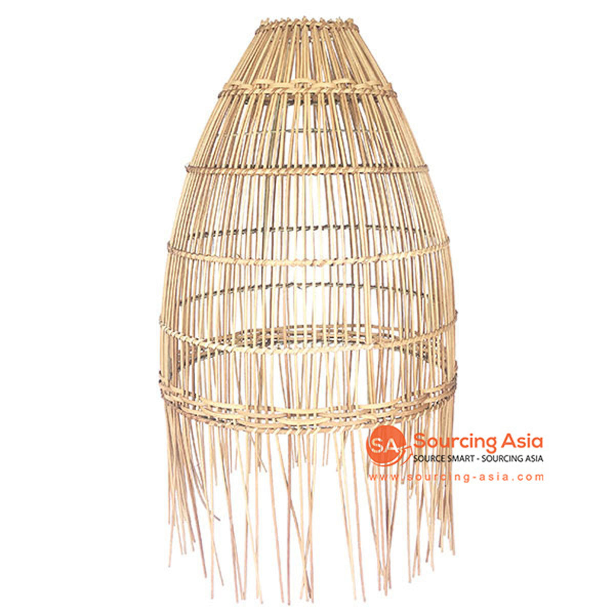 SHL064-2 NATURAL RATTAN PENDANT LAMP