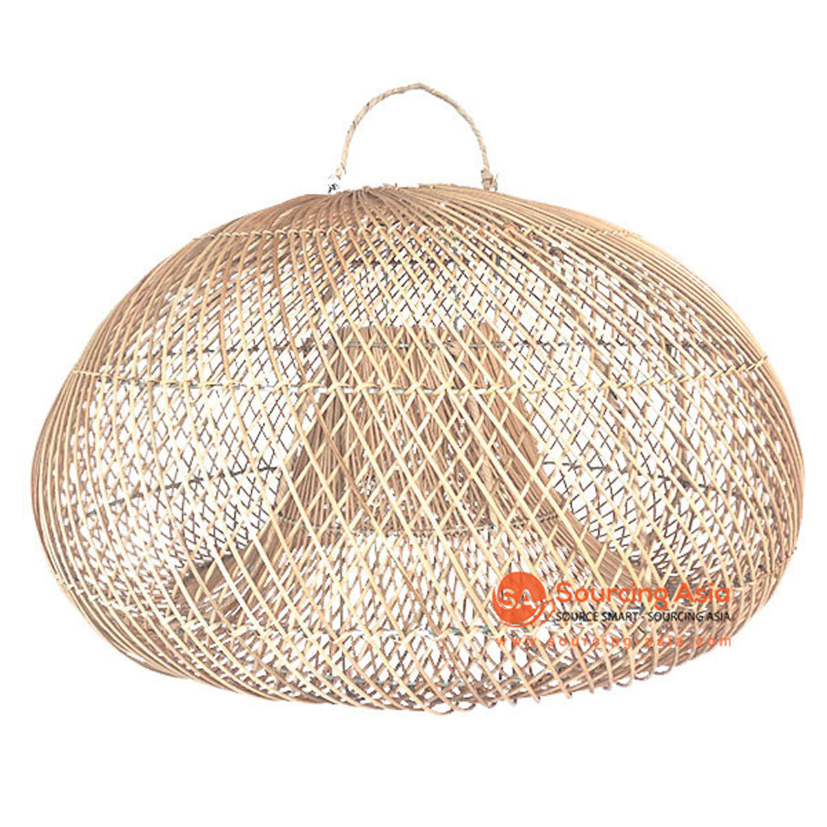 SHL064-5 NATURAL RATTAN PENDANT LAMP