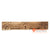 SHL075-6 NATURAL WOODEN CARVED WALL HOOK