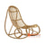 SHL128 NATURAL RATTAN DECORATIVE UPHOLSTERED CHAIR