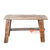 SHL144 NATURAL TEAK WOOD STOOL