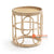 SHL161 NATURAL RATTAN DECORATIVE TABLE WITH ROUND TOP