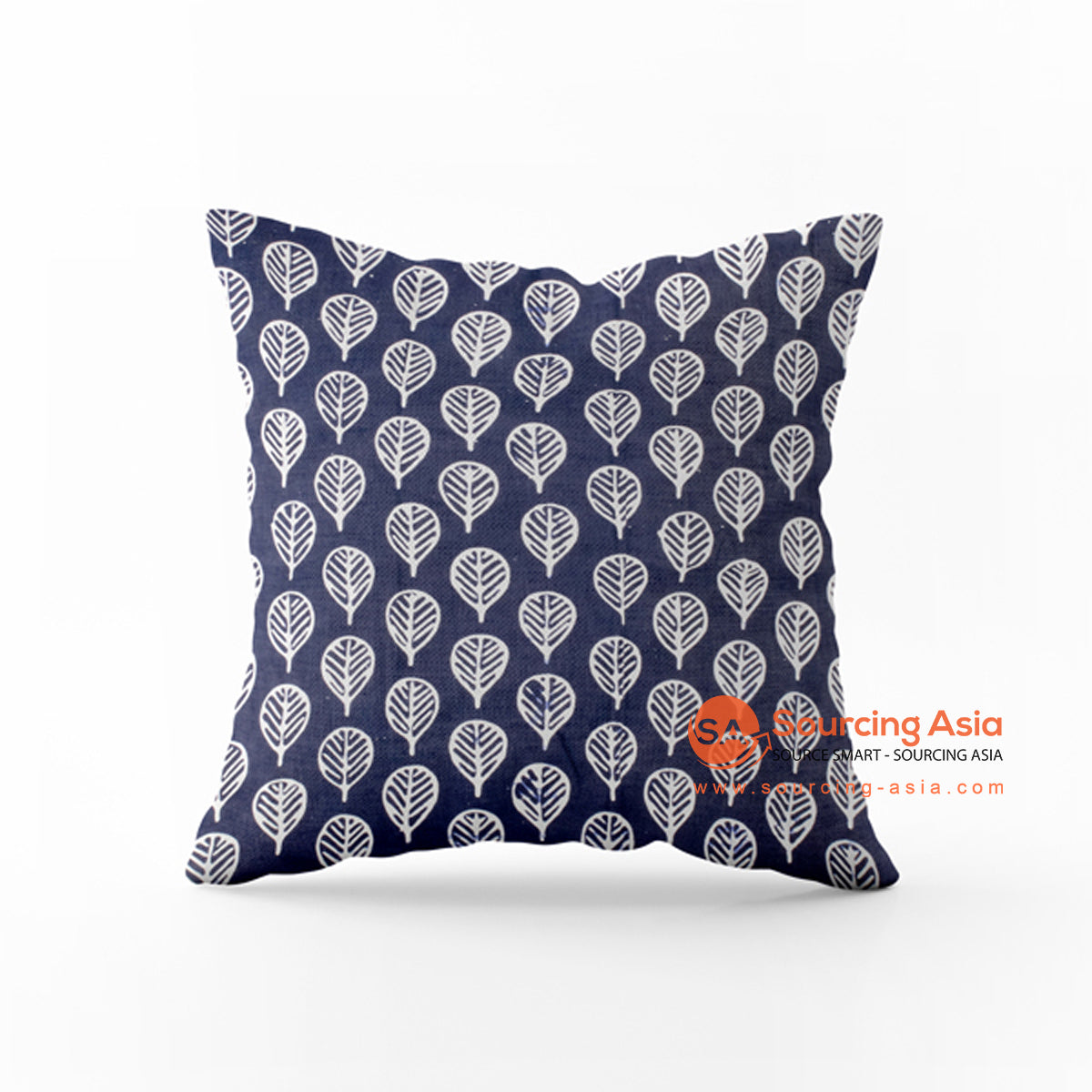 SHL165-14 BATIK STAMP CUSHION COVER