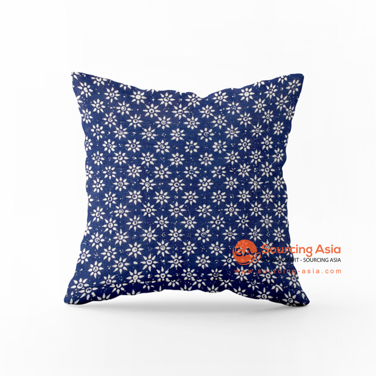 SHL165-16 BATIK STAMP CUSHION COVER
