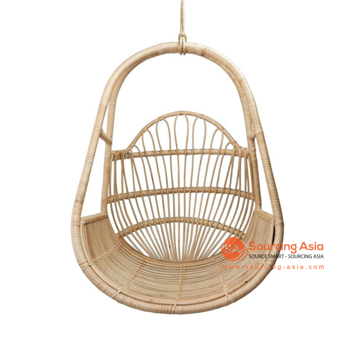SHL175 NATURAL RATTAN HANGING CHAIR