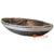 SKB009-49 WOODEN BOAT DECORATION