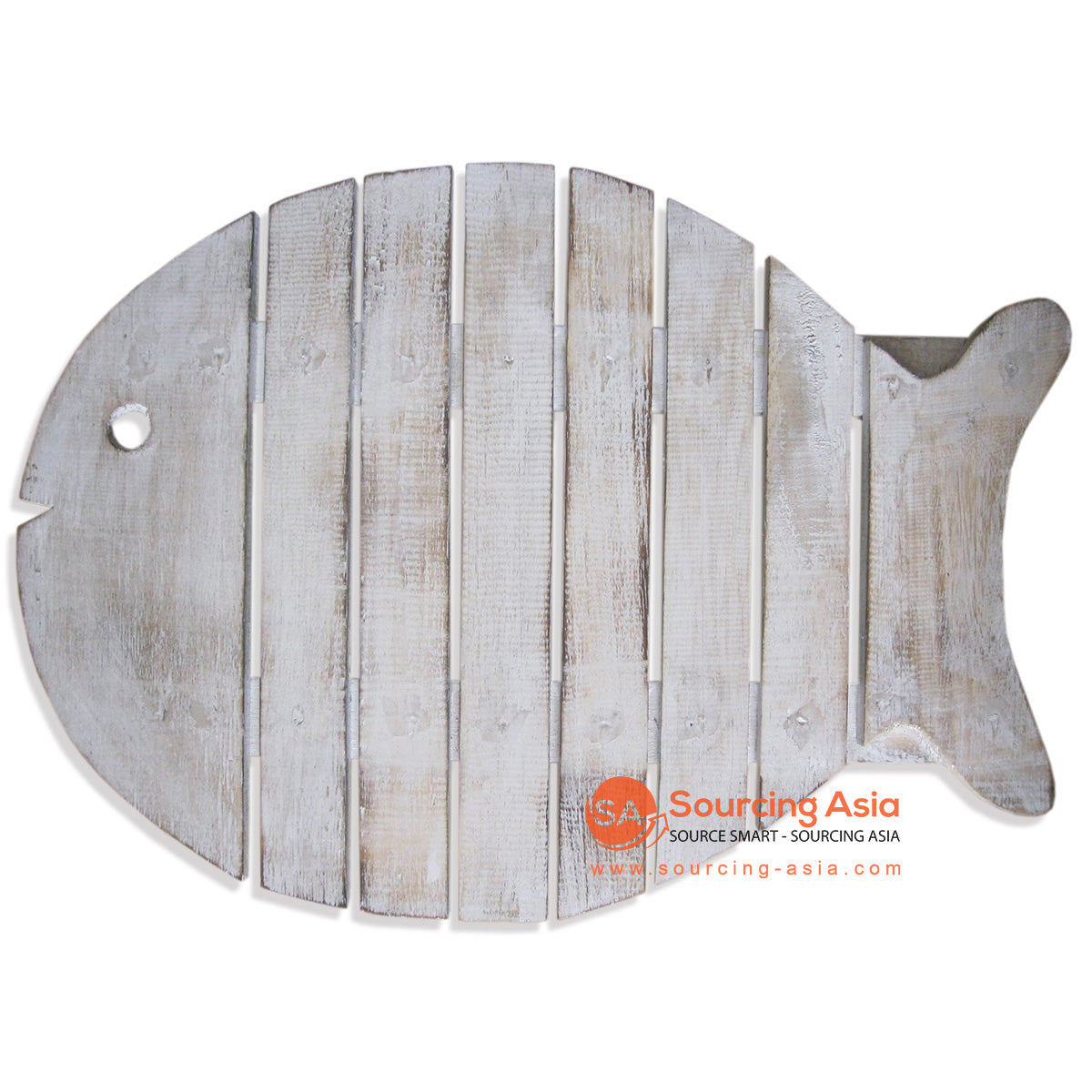 SKB013NAT WOODEN FISH TRAY