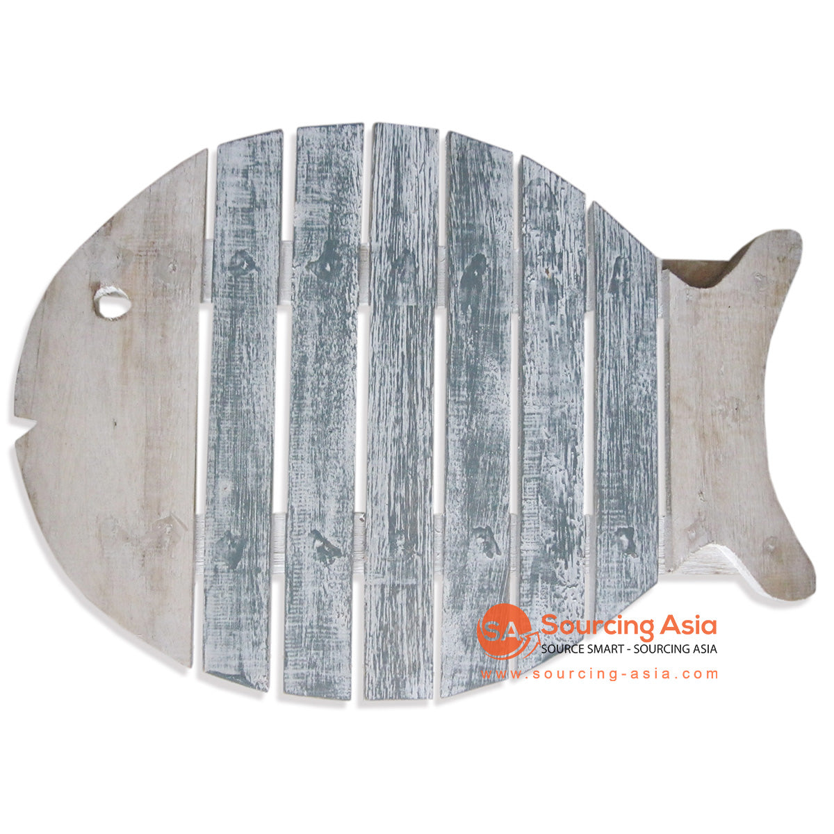 SKB013NG WOODEN FISH TRAY